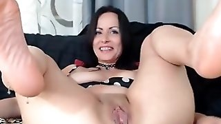 Hot milf anal play
